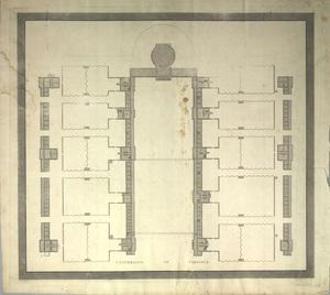 University of Virginia (Ground Plan), 1822