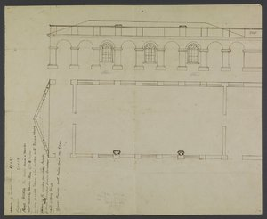 Plan for lecture halls at the University of Virginia