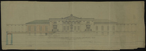 Front elevation of Cabell Hall (Academical Building)