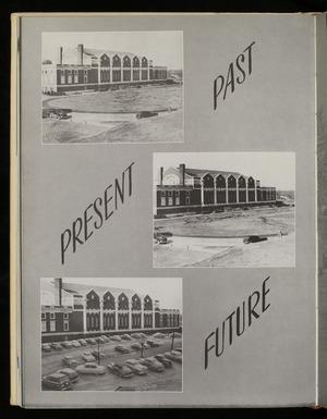 """""""Past, Present, Future"""" image of Memorial Gymnasium"""