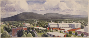 Rendering of the University Hospital