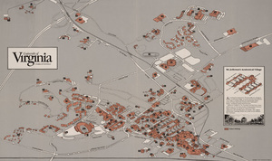 Map of U.Va. grounds